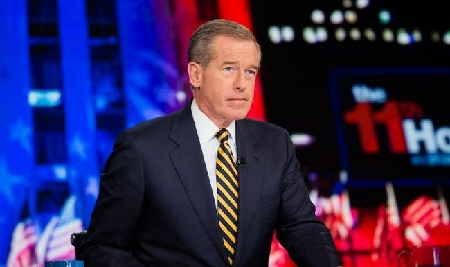 Brian Williams newsreader