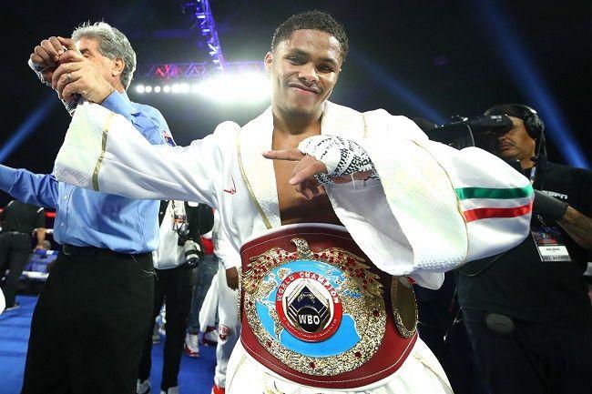 Shakur Stevenson- boxer