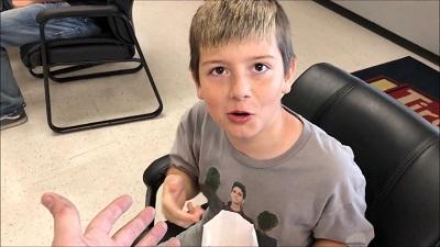 Leland Powell in a video