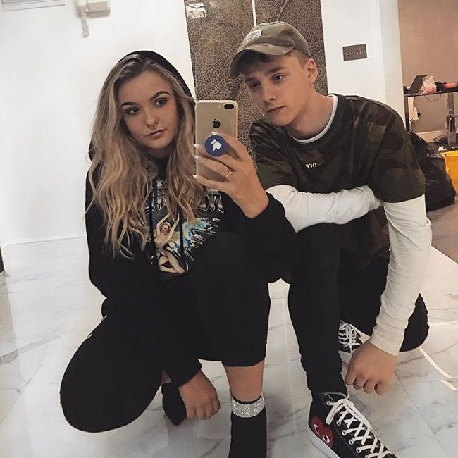 Jordan Houston- girlfriend