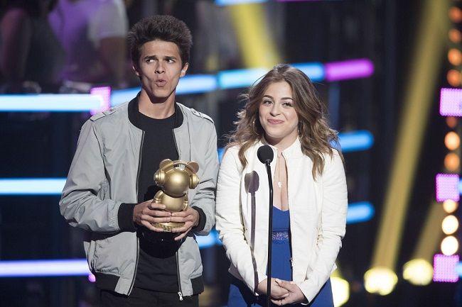 Baby Ariel at music award