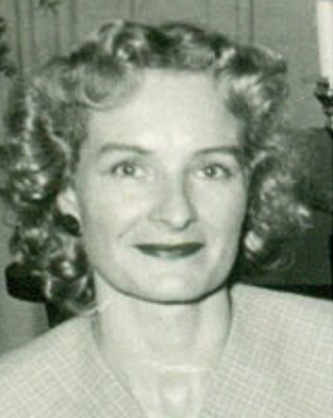 Judy Woodruff mother