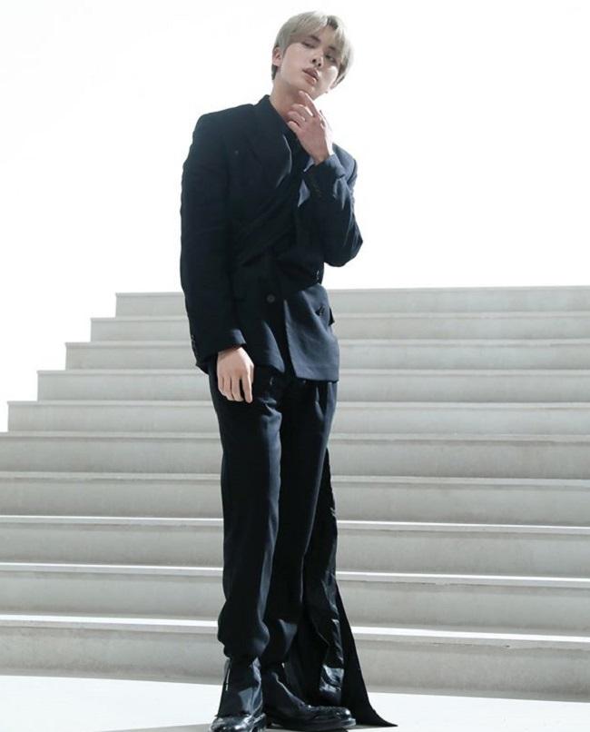 Kim Seokjin body measurement