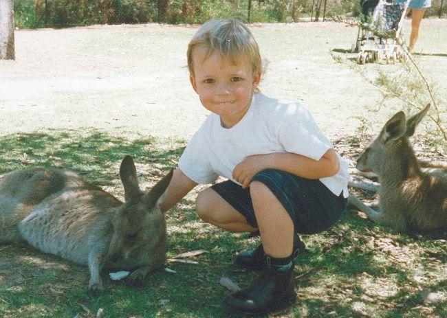 Ashton Irwin child