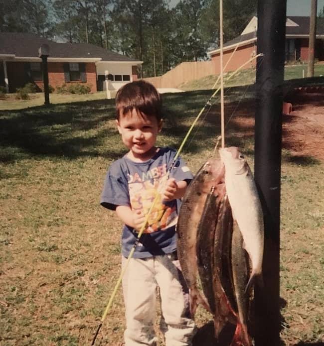 Charles Melton Childhood