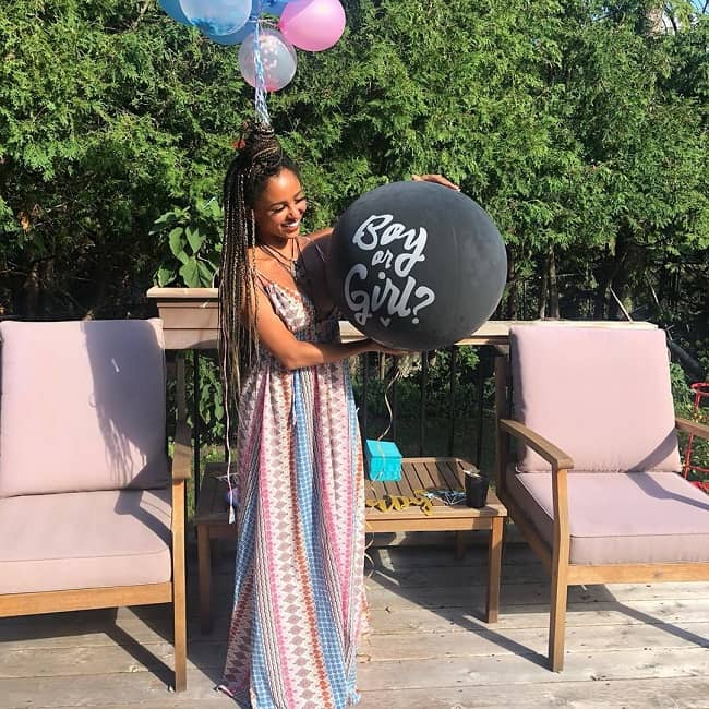 Vanessa Morgan Baby Shower