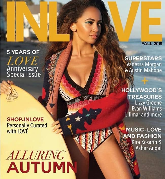 Vanessa Morgan Magazine Cover
